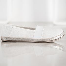 SHELOVET Stylish Slip-On Sneakers white 2