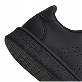 Adidas Vs Advantage Jr EF0222 shoes black red 1