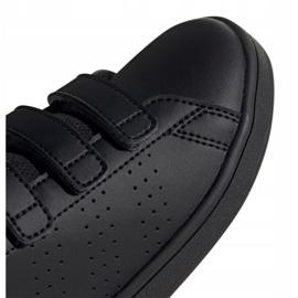 Adidas Vs Advantage Jr EF0222 shoes black red 2
