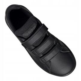 Adidas Vs Advantage Jr EF0222 shoes black red 3