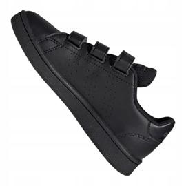 Adidas Vs Advantage Jr EF0222 shoes black red 5