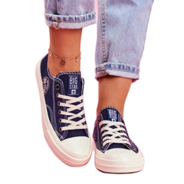 Women's Sneakers Big Star Navy Blue FF274125 multicolored 1