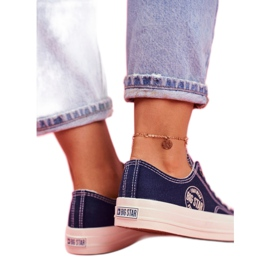Women's Sneakers Big Star Navy Blue FF274125 multicolored 2
