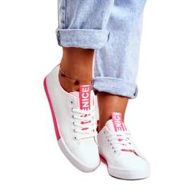 SEA Classic Women's Sneakers Fuchsia Ville white pink 1