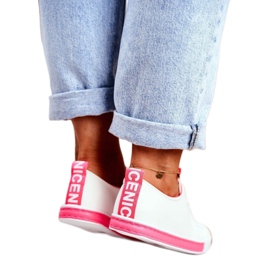 SEA Classic Women's Sneakers Fuchsia Ville white pink 2