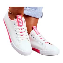 SEA Classic Women's Sneakers Fuchsia Ville white pink 3