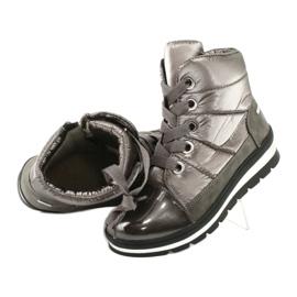 Brown snow boots, Caprice 26212 membrane 4