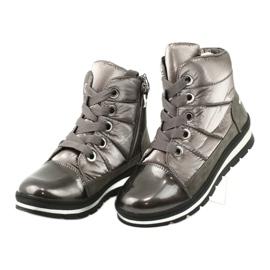 Brown snow boots, Caprice 26212 membrane 2