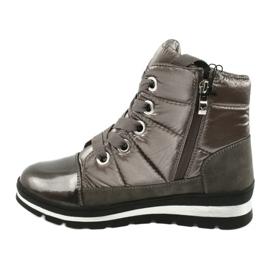 Brown snow boots, Caprice 26212 membrane 1