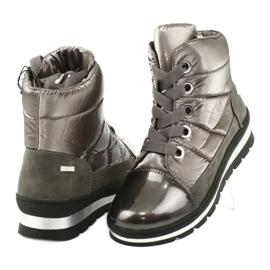 Brown snow boots, Caprice 26212 membrane 3