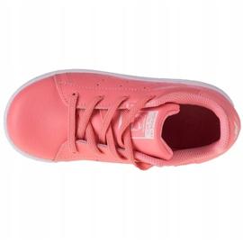 Adidas Stan Smith El K EF4928 shoes pink grey 2