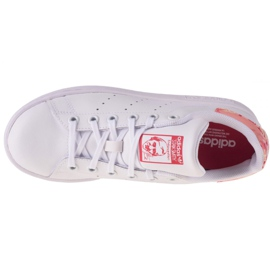 Adidas Stan Smith Jr FV7405 shoes white navy blue 2