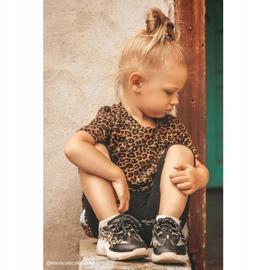 FRROCK Black Kids' Dante Sport Shoes 6