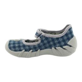 Befado children's shoes 109P188 blue grey 2