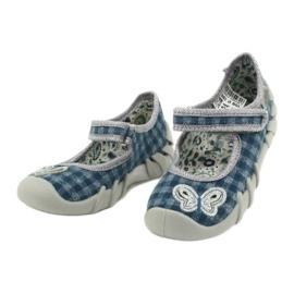 Befado children's shoes 109P188 blue grey 3