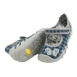 Befado children's shoes 109P188 blue grey 4