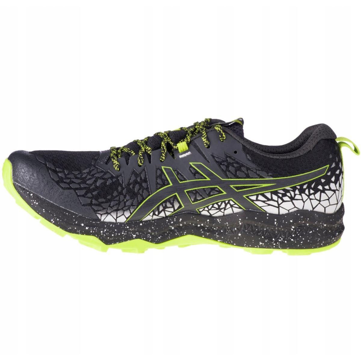 Asics FujiTrabuco Lyte M 1011A700-001 shoes black - KeeShoes
