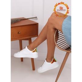 White 5G-2 Gold women's sneakers 1