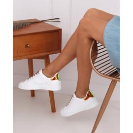 White 5G-2 Gold women's sneakers 4