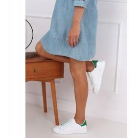 White 5G-2 Green women's sneakers 2