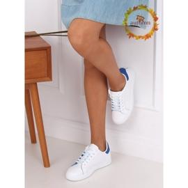 White 5G-2 Blue women's sneakers 1