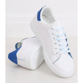 White 5G-2 Blue women's sneakers 3