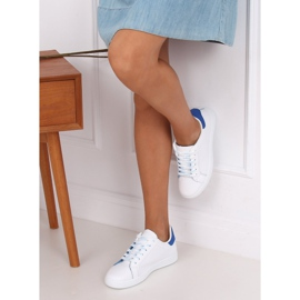 White 5G-2 Blue women's sneakers 4