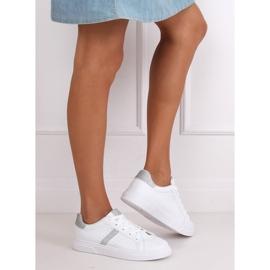 White women's sneakers C941 Silver 5