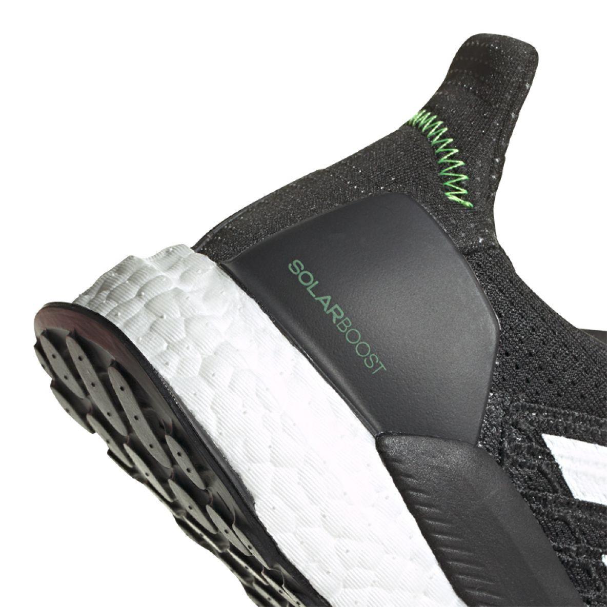 Contribuir el propósito Campo  Running shoes adidas Solar Boost 19 M FW7814 white black - ButyModne.pl