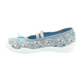 Befado children's shoes 116Y274 blue grey 2