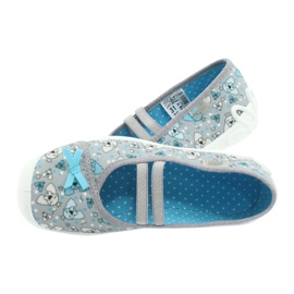 Befado children's shoes 116Y274 blue grey 5