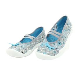 Befado children's shoes 116Y274 blue grey 3