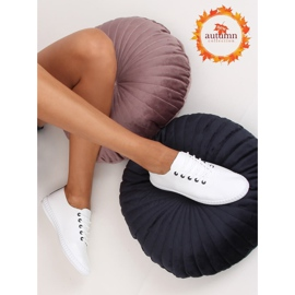 Women's black and white sneakers 6165 Black 1