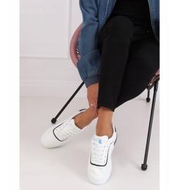 White women's sneakers 1239-Y Black 3