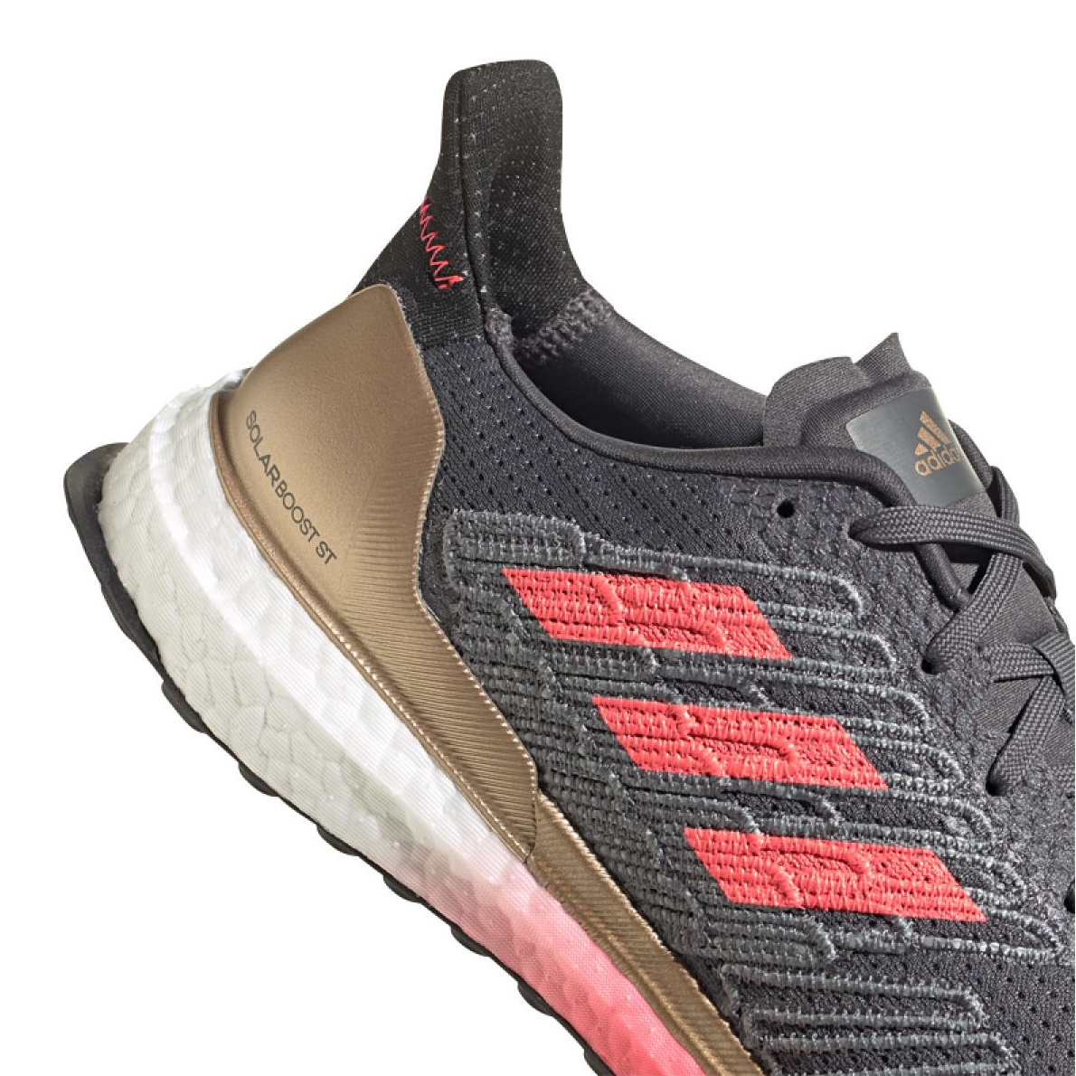 Desigualdad Glamour Ajustable  Running shoes adidas Solar Boost St 19 M FW7811 grey - ButyModne.pl