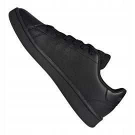 Adidas Advantage Jr EF0212 shoes black grey 1