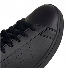Adidas Advantage Jr EF0212 shoes black grey 4