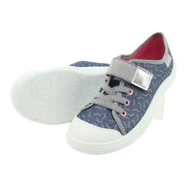 Befado children's shoes 251Y153 blue grey 4