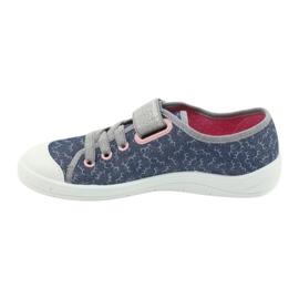 Befado children's shoes 251Y153 blue grey 2