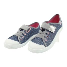 Befado children's shoes 251Y153 blue grey 3