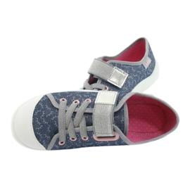 Befado children's shoes 251Y153 blue grey 5