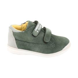 American Club GC22 Velcro shoes grey green 6