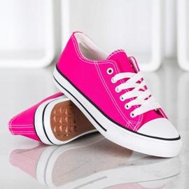 J. Star Classic Fuchsia Sneakers pink 2