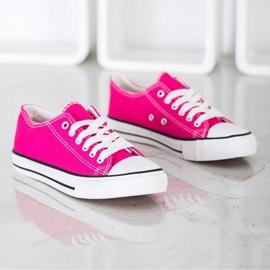 J. Star Classic Fuchsia Sneakers pink 3