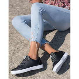 SHELOVET Sneakers With Decorative Laces black 3