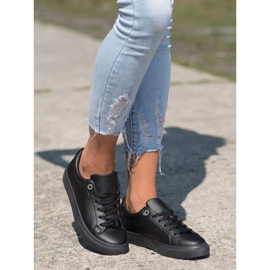 SHELOVET Sneakers With Eco Leather black 2