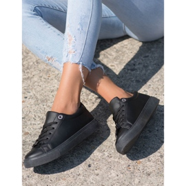 SHELOVET Sneakers With Eco Leather black 3