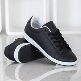 SHELOVET Casual Black Sneakers 2