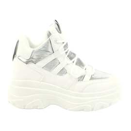 Evento High sports shoes 20BT26-3192 white silver 1