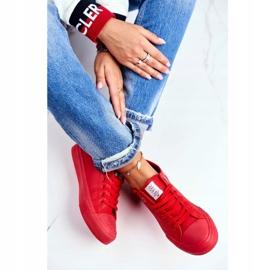 Women's Sneakers Cross Jeans Red DD2R4032 1
